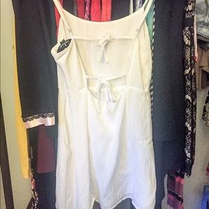 White Lulu*s Baby Doll Top